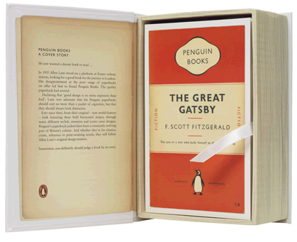 postcards from penguin 100 book jackets in one box