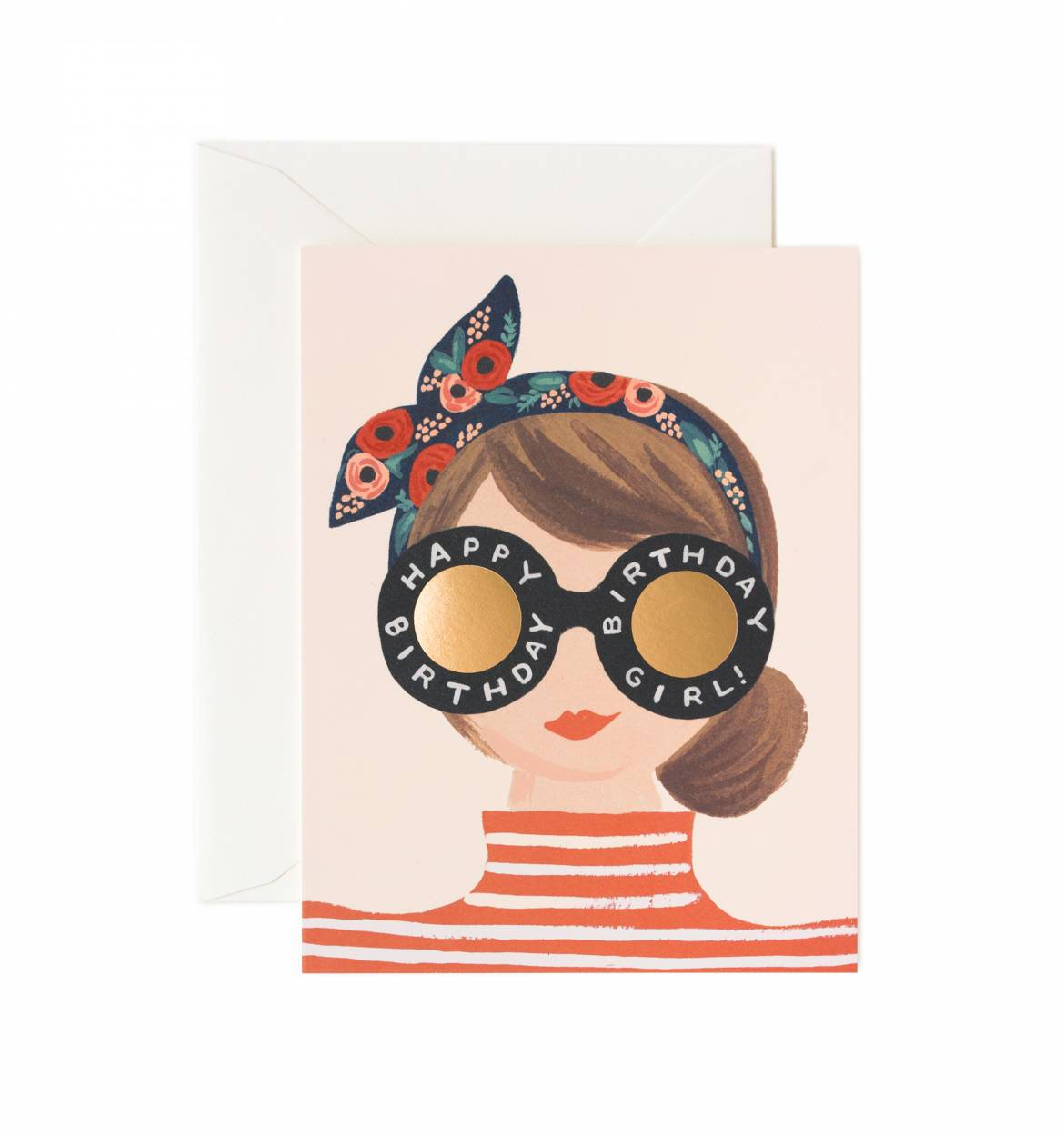 Rifle paper co birthday girl card papercut bookmarktalkfo Images