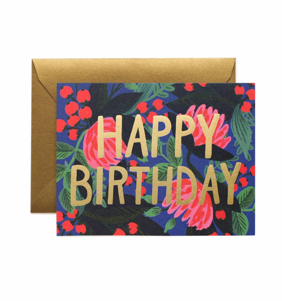 Rifle Paper Co. - Floral Foil Birthday Card