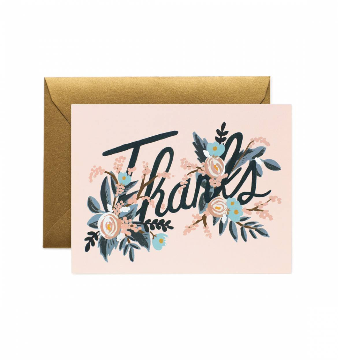 Rifle Paper Co Woodland Thank You Card Papercut