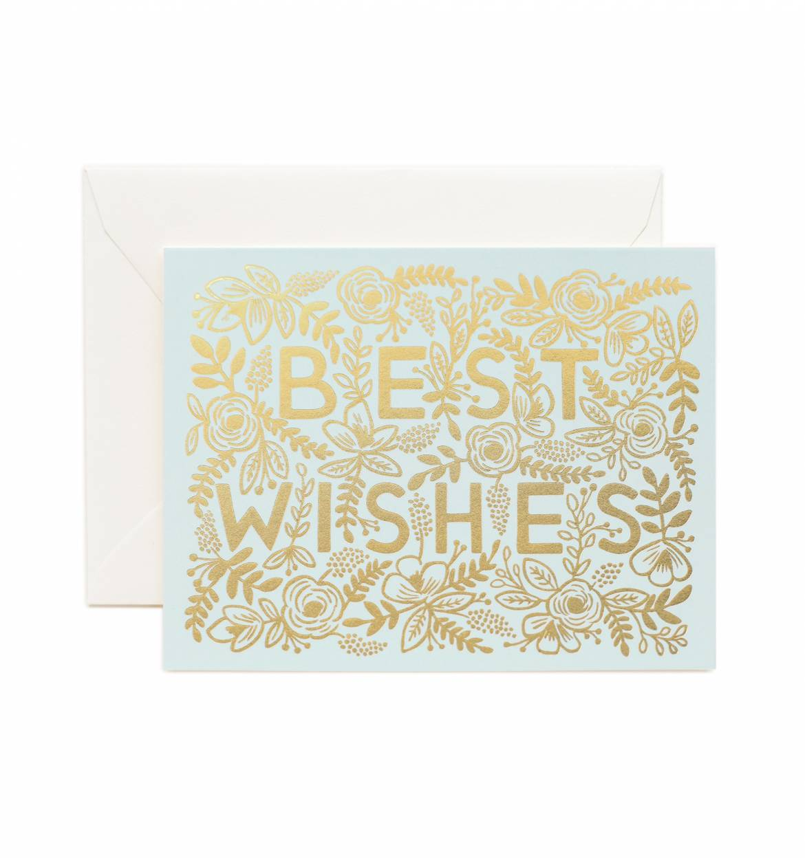 Rifle Paper Co Best Wishes Card Papercut