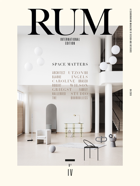 Rum international no 4 papercut - Scandinavian interior design magazine ...
