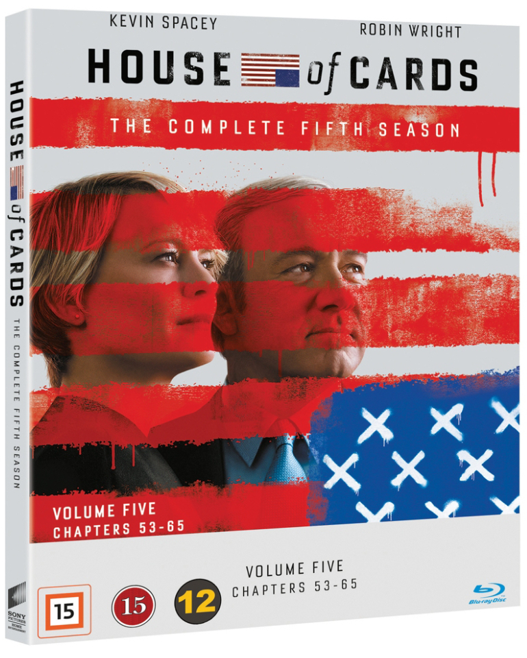 House Of Cards Season 5 Blu Ray Papercut