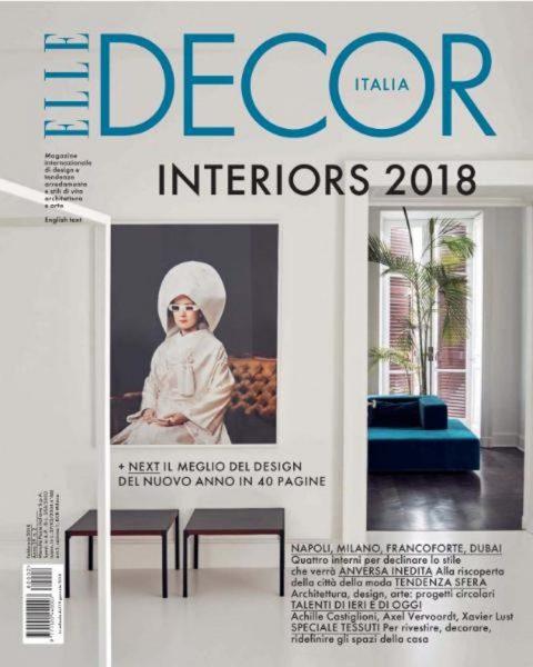 Elle Decor Italia, February 2018 | Papercut