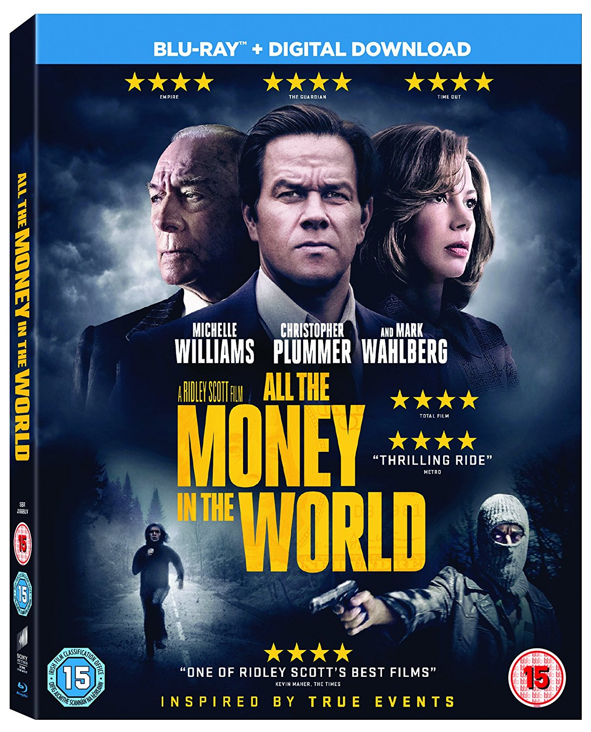 All The Money In The World (Blu-Ray) | Papercut
