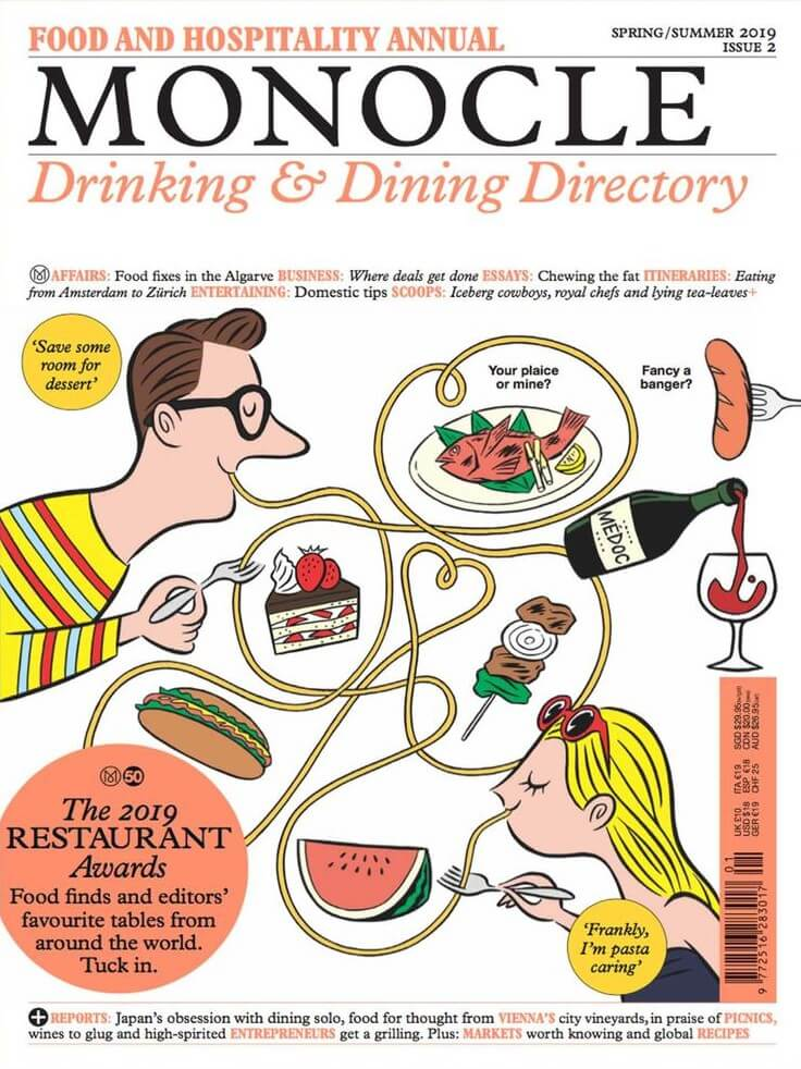Monocle Drinking & Dining Directory 2019 | Papercut