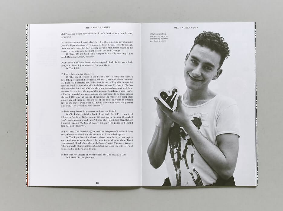 The Happy Reader, Issue 11 - Olly Alexander | Papercut