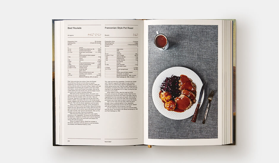 The German Cookbook | Papercut