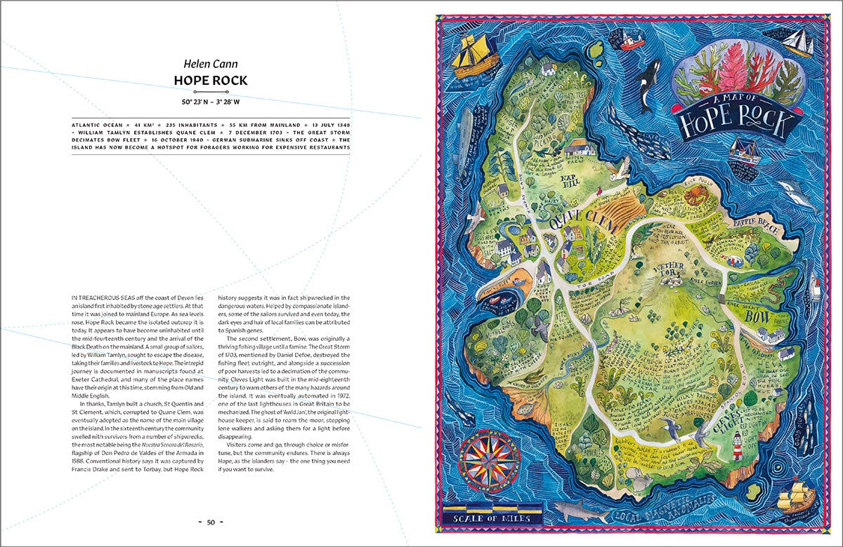 Picture of: Archipelago An Atlas Of Imagined Islands Papercut