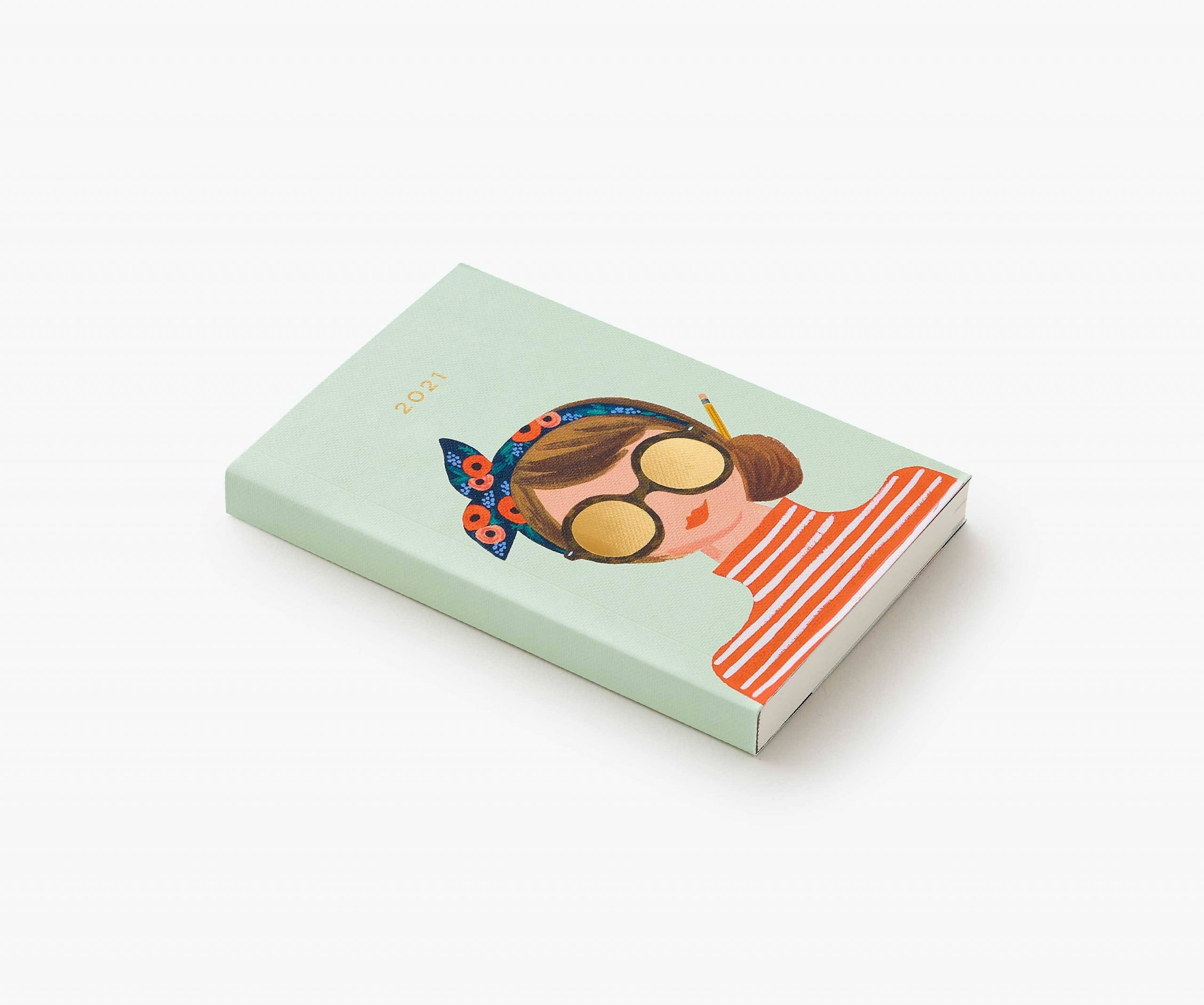 Rifle Paper Co 2021 Type A Pocket Planner Papercut